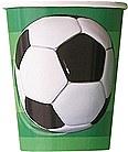 3D Soccer 9 oz. Cups 8ct