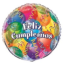 "Feliz Cumpleanos 18"" Foil Balloon Bulk"