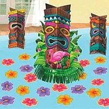 Tiki Table Decorating Kits