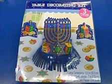 Table Decoration Kit Hanukkah