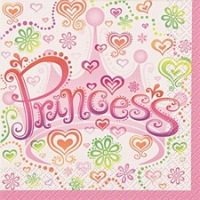Princess Diva Luncheon Napkins 16ct
