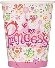 Princess Diva 9 oz. Cup, 8ct