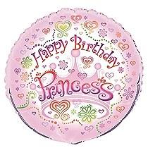 "Princess Diva 18"" Foil Balloon Bulk"