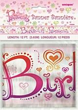 Princess Diva Foil Banner 12Ft.