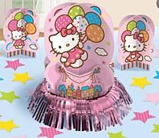Hello Kitty Balloon Dreams Table Decorating Kit