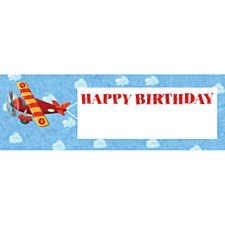 On The Go Happy Birthday Giant Party Banner