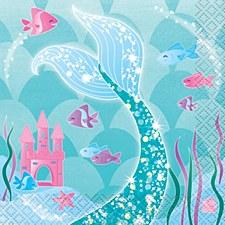 Mermaid Bev. Napkin
