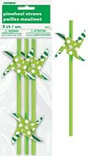 Pinwheel Paper Straws