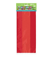 30 Cello Bags- Ruby Red