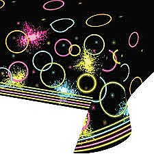 Glow Party Tablecover 54''x102''