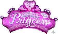 "32""Princess Crown & Gem"