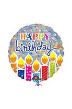 "32"" Shimmer Birthday Candles Jumbo Holographic"