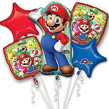 Super Mario Balloon Bouquet