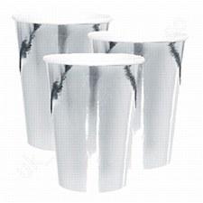 Foil Silver 12oz. Cups