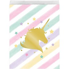 Unicorn Treat Paper Bags
