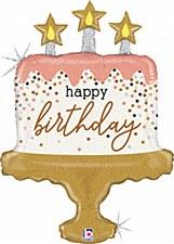 "33"" Birthday Cake Confetti"