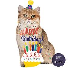 "33""Birthday Cat"