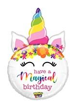 "33""Might Birthday Unicorn"