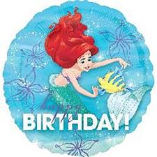 """18""""Ariel Dream Big Happy Birthday"""