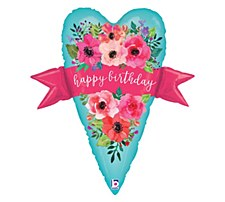 """29"""" Water Color Birthday Banner"""