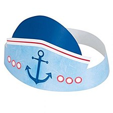1st birthday Nautical Hats