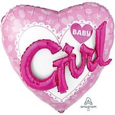 Celebrate Baby Girl Multi-Balloon
