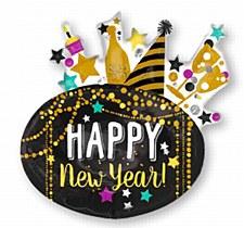 Happy New Year Super Shape