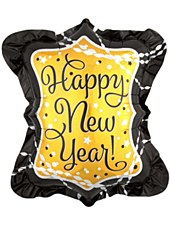 Happy New Year Holographic Balloon