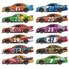 Race Car Props, 12ct