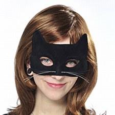 Feline Black Mask
