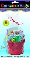 Container Bags Cello - 8ct
