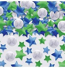2.5 oz Baseball Confetti