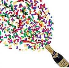 Bottle Party Confetti Popper