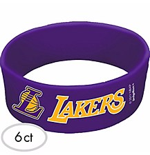 Los Angeles Lakers Cuff Bands