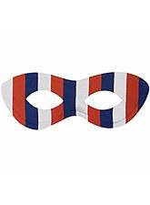 Red, White & Blue Superhero Eye Mask