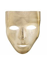 Basic Gold Face Mask