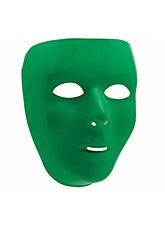 Basic Green Face Mask