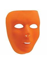 Basic Orange Face Mask