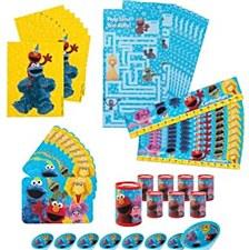 Sesame Street Favors Kit