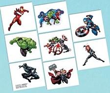 Avengers Tattoo Squares