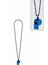 Blue Whistle Necklace