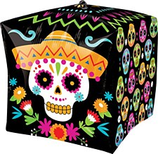 """15""""Day Of The Dead Cubez"""