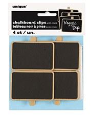 Chalkboard Clips