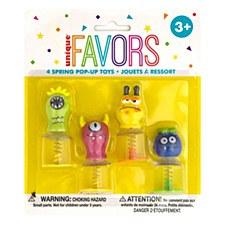 4 Spring Pop-Up Toys
