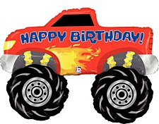 "40""Monster Truck Birthday"