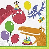 Dino Party Lunch Napkin