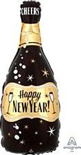 New Years Black Champange Anagram 4044101