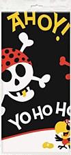"""Pirate Fun Plastic Table Cover 54"""" x 84"""""""