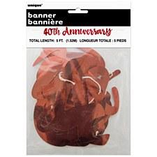 4oth Anniversary Banner