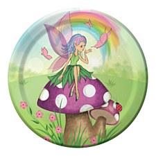 """Fancy Fairy 7"""" Plates"""